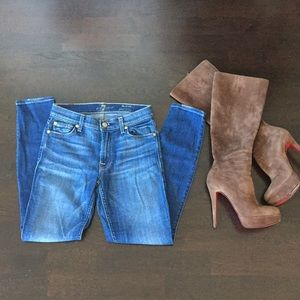 ⭐️7 For All Mankind The Ankle Skinny Jeans⭐️
